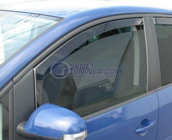Bočni vjetrobrani-deflektori zraka za VW Touran