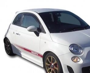 Bočni vjetrobrani-deflektori zraka za Fiat 500
