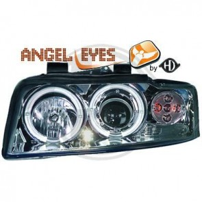 ANGEL EYES FAROVI ZA AUDI A4 B6 2000-2004 GOD. - KROM