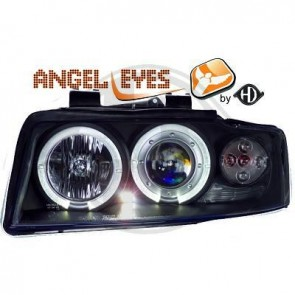 ANGEL EYES FAROVI ZA AUDI A4 B6 2000-2004 GOD. - CRNI