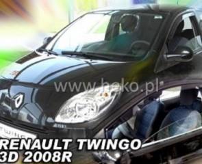 Bočni vjetrobrani-deflektori zraka za Renault Twingo 2