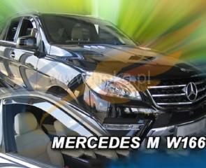 Bočni vjetrobrani-deflektori zraka za Mercedes Benz M klasa W166