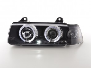 ANGEL EYES FAROVI ZA BMW 3 E36 LIMUZINA 1992-1998 GOD. - CRNI