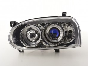 ANGEL EYES FAROVI ZA VW GOLF 3 - KROM