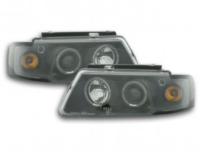 ANGEL EYES FAROVI ZA VW PASSAT B5/3B 1997-2000 GOD. - CRNI