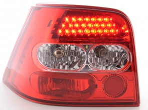 LED LAMPE ZA VW GOLF 4  - CRVENE