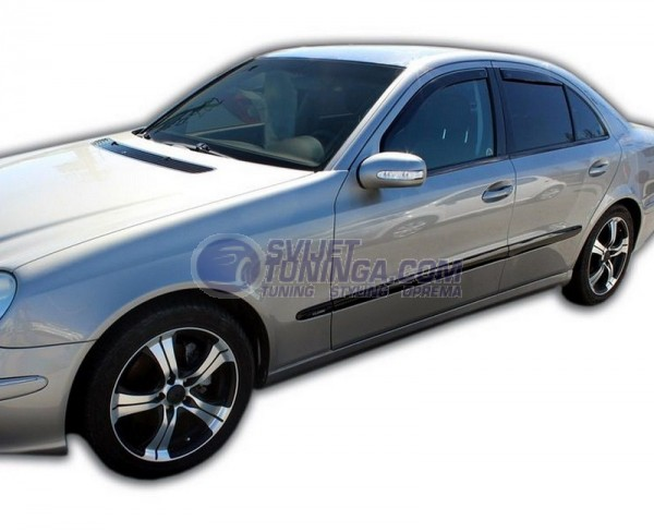 Bočni vjetrobrani-deflektori zraka za Mercedes E klasa W211