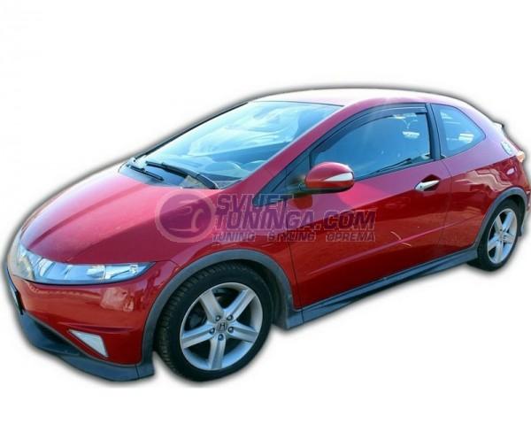 Bočni vjetrobrani-deflektori zraka za Honda Civic coupe