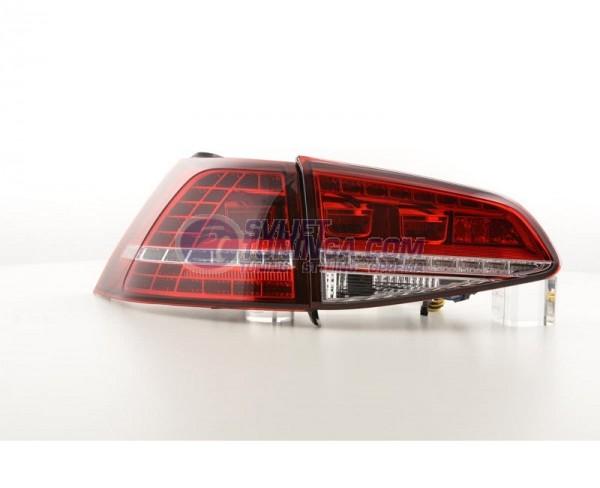 LED LAMPE ZA VW GOLF VII  -  CRVENE