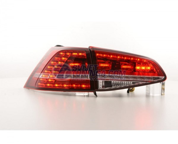 LED LAMPE ZA VW GOLF VII  -  CRVENE