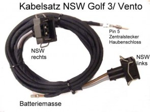 SET KABEL ZA MAGLENKE VW GOLF 3