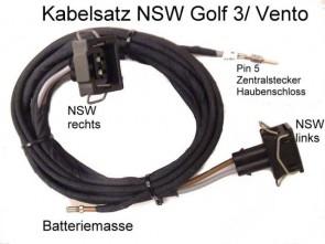 SET KABEL ZA MAGLENKE VW GOLF 3